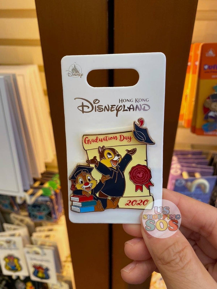 HKDL - Pin x Graduation Day 2020 - Chip & Dale