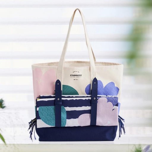 Starbucks China - Spring Blooming 2021 - Tote Bag & Scarf