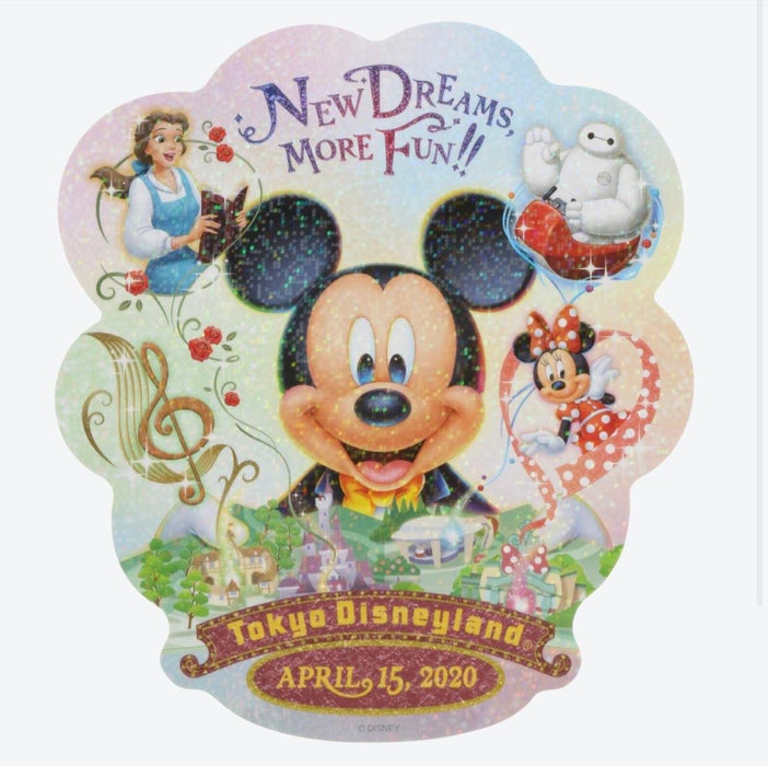 TDR - New Dreams, More Fun Collection - Sticker x New Dreams, More Fun