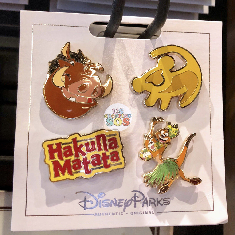 DLR - Flair Pin Set of 4 - The Lion King