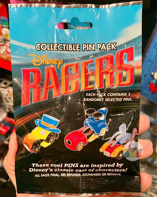 DLR - Mystery Collectible Pin Pack - Disney Racers