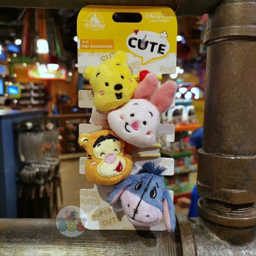 SHDL - Super Cute Winnie the Pooh & Friends Collection - Hair Ties Sept