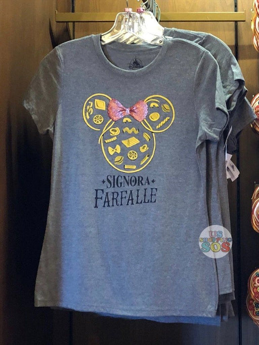 WDW - Epcot World Showcase Italy - Minnie Pasta Signora Farfalle T-shirt (Adult)