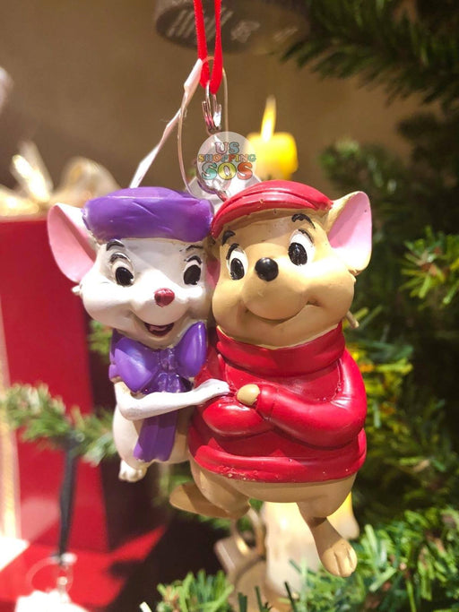 DLR - Sketchbook Ornament - The Rescuers Down Under Bernard & Bianca