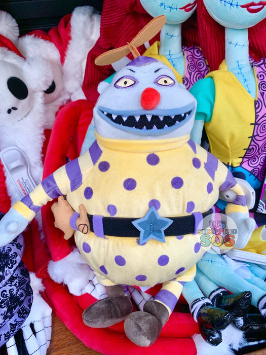 Nightmare Before Christmas Clown With A Tear Away Face.Dlr The Nightmare Before Christmas Plush Toy Clown With The Tear Away Face