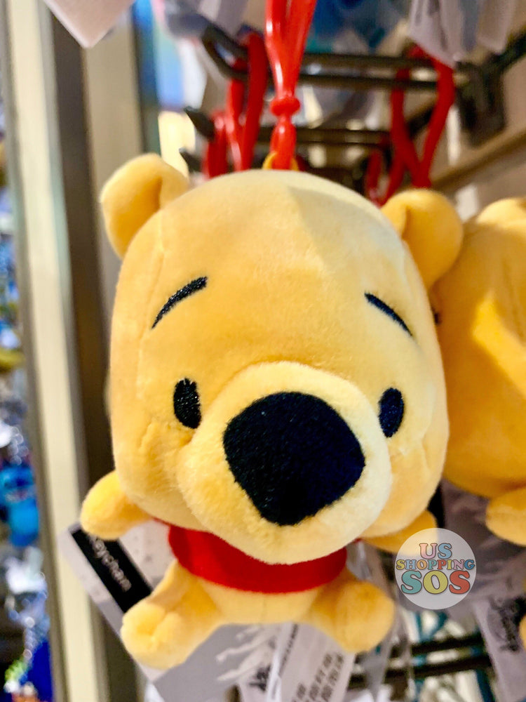DLR - Character Plush Keychain - Winnie the Pooh