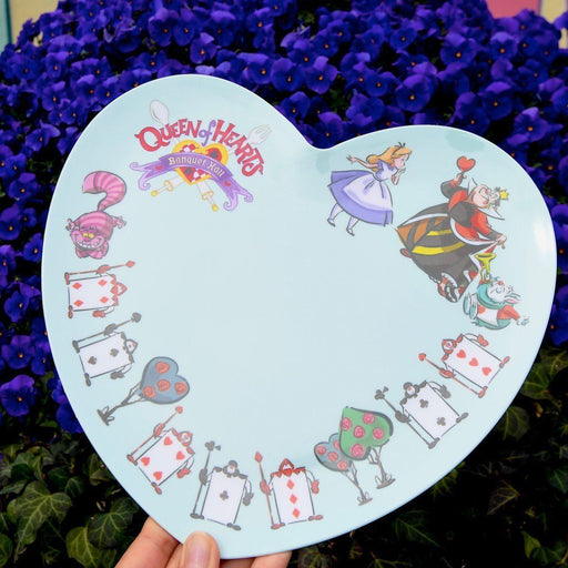 TDR - Alice in Wonderland Souvenir Heart Shape Dessert Plate