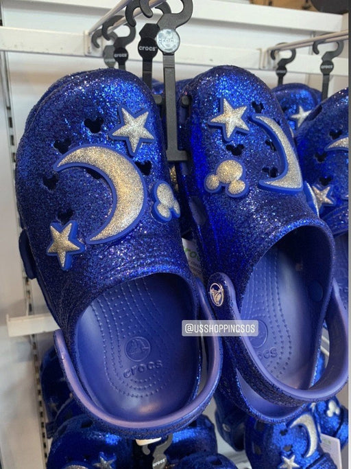 DLR - Wish Come True Blue 💙 - Crocs Classic Glitter Clog
