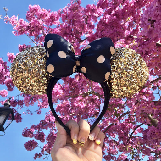 [Last One on Hand!] DLR - Minnie Paris Style Sequin Headband