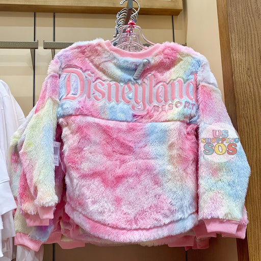 "DLR - ""Disneyland Resort"" Fluffy Spirit Sweatshirt (Youth) - Cotton Candy"
