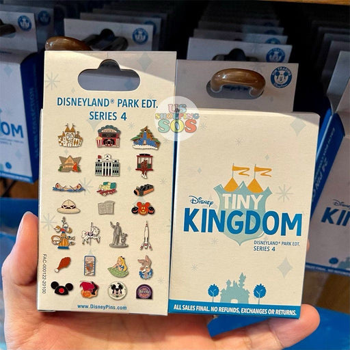 DLR - Disney Tiny Kingdom Pin Mystery Box (Series 4)