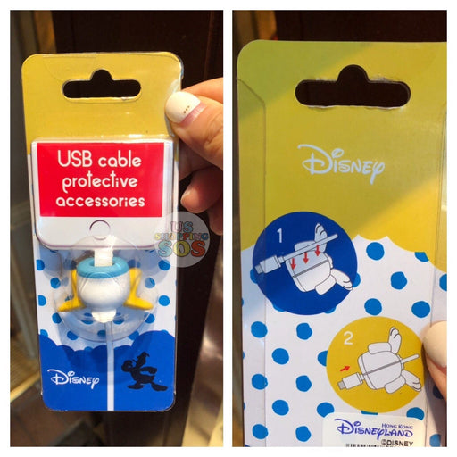 HKDL - USB Cable Protective Accessories - Donald Duck