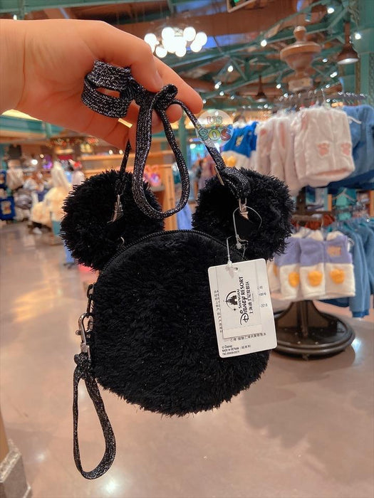 SHDL - Fluffy Long Strap Bag x Mickey Mouse Big Face