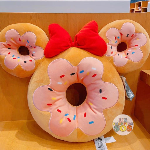 SHDS - Disney Parks Food Cushion Plush - Minnie Donut