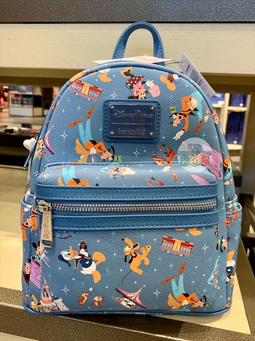 DLR - Park Life Disneyland - Loungefly All-Over-Print Backpack