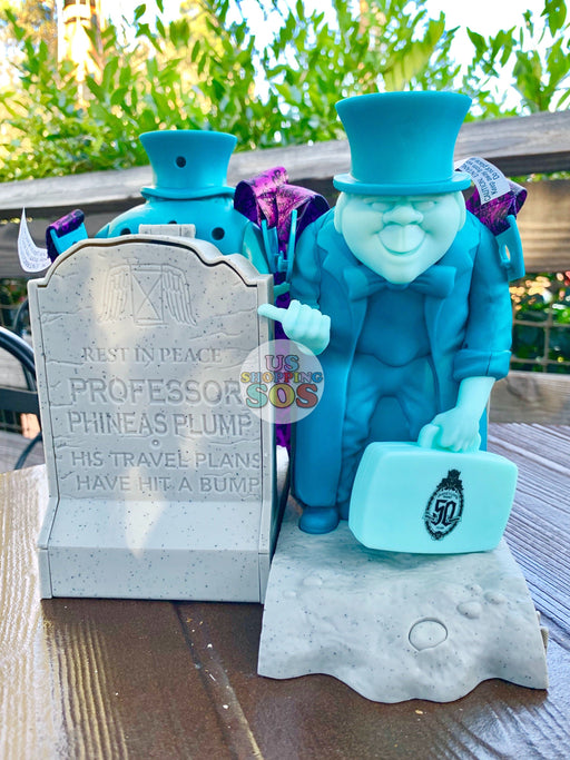DLR - Haunted Mansion 50th Anniversary - Hitch Hiking Ghost Phineas Popcorn Bucket