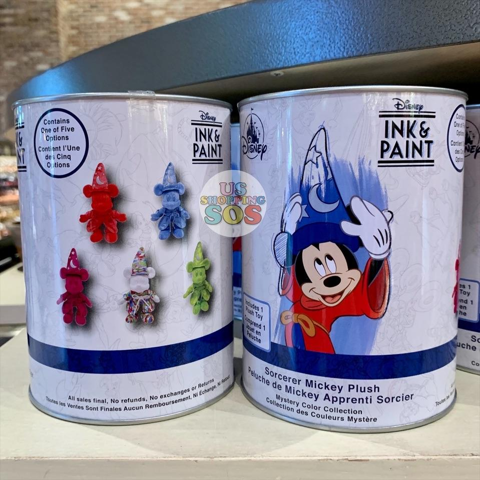 DLR - Ink & Paint - Sorcerer Mickey Plush Toy (Random Can)