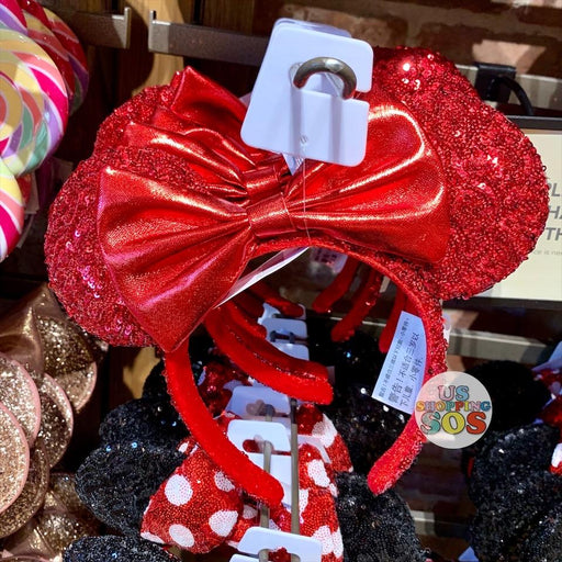 DLR - Minnie Lucky Red Sequin Headband