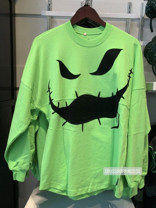 DLR - The Nightmare Before Christmas - Oogie Boogie Spirit Jersey (Adult) (Neon Green)