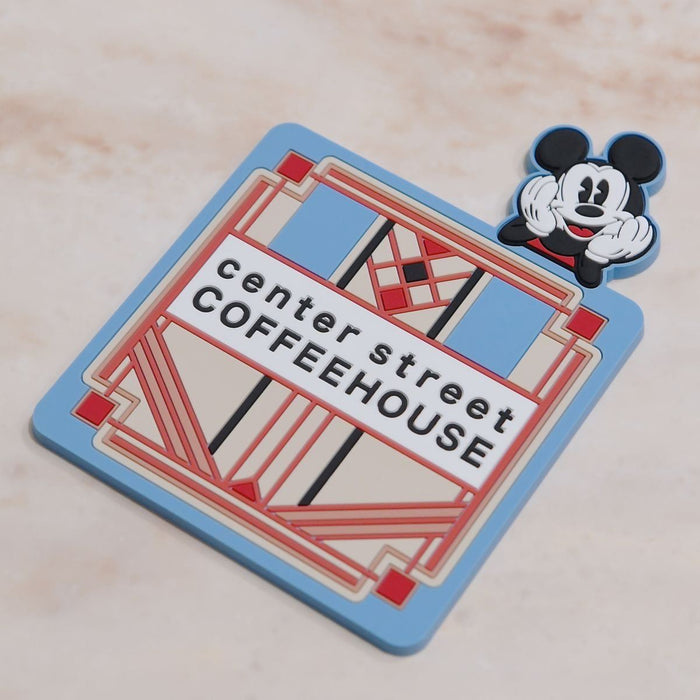 TDR - Center Street Coffee House Mickey Mouse Coaster