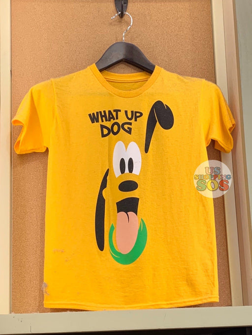"DLR - Graphic T-shirt - Pluto ""What Up Dog"" (Youth) (Yellow)"