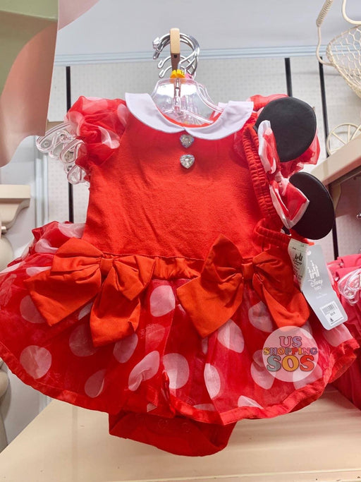 DLR - Baby Costume Bodysuit & Headband - Minnie Mouse