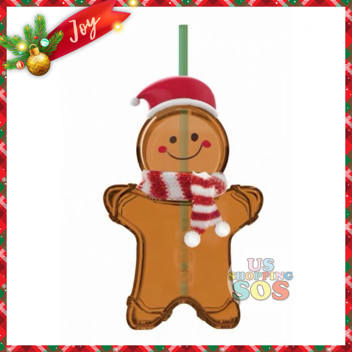 Starbucks China - Christmas Time 2020 (Store 1st Series) - Gingerbread Glass Sipper
