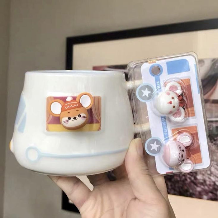 Starbucks China - New Year 2020 Mouse Vacation - 14oz Mouses on the Train Mug