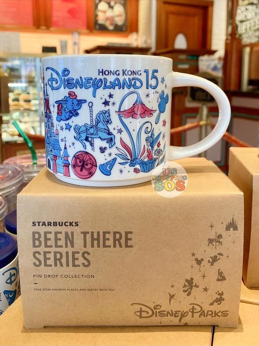 HKDL - Starbucks Been There Series Hong Kong Disneyland 15  - Mug