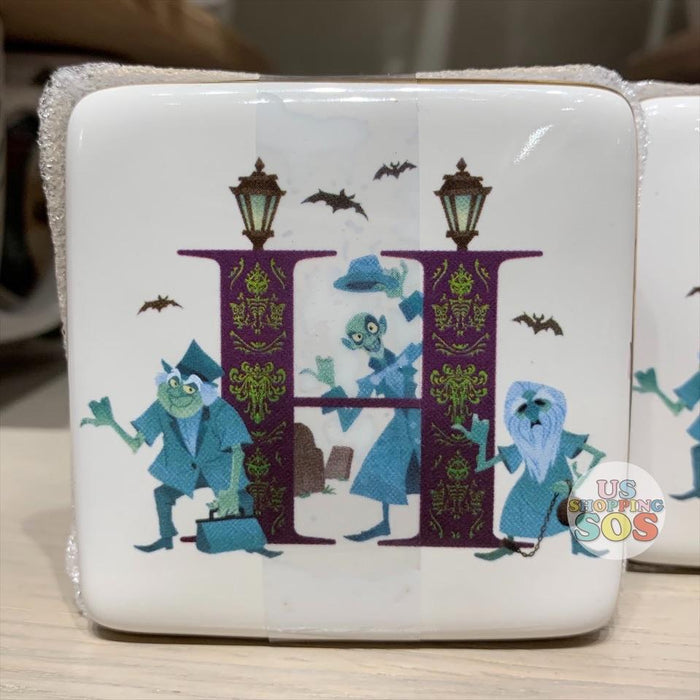DLR - ABCDisney Letter Trinket Box - H is for The Haunted Mansion
