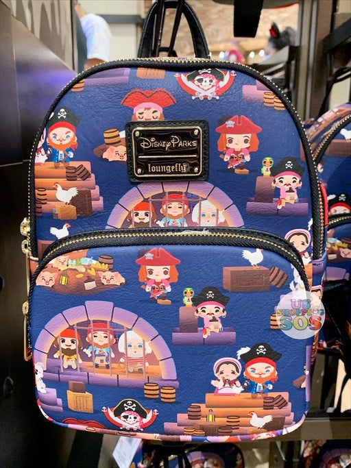 DLR - Loungefly Cutie Pirates of the Caribbean Backpack