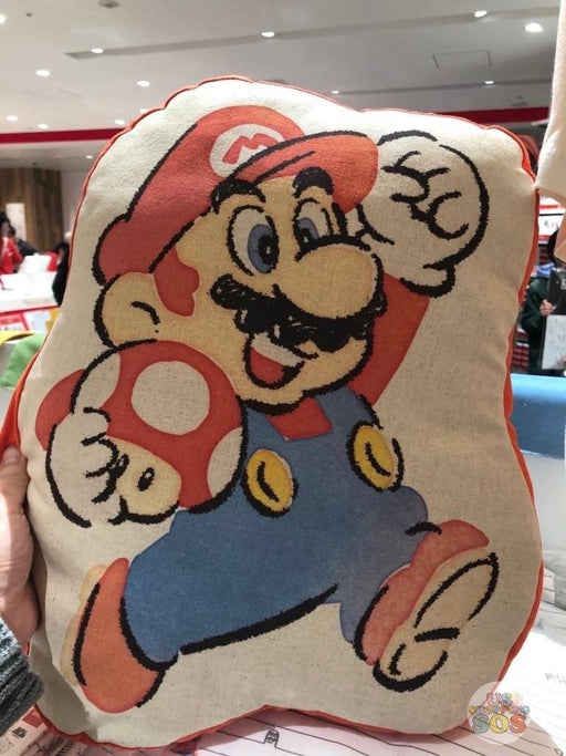 Japan Nintendo - Super Mario Cushion x Mario