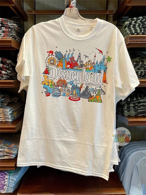 DLR - Graphic Tee - Disneyland Attractions Open Day