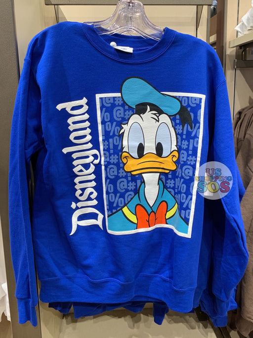 "DLR - Character ""Disneyland"" Sweater (Adult) - Donald Duck"