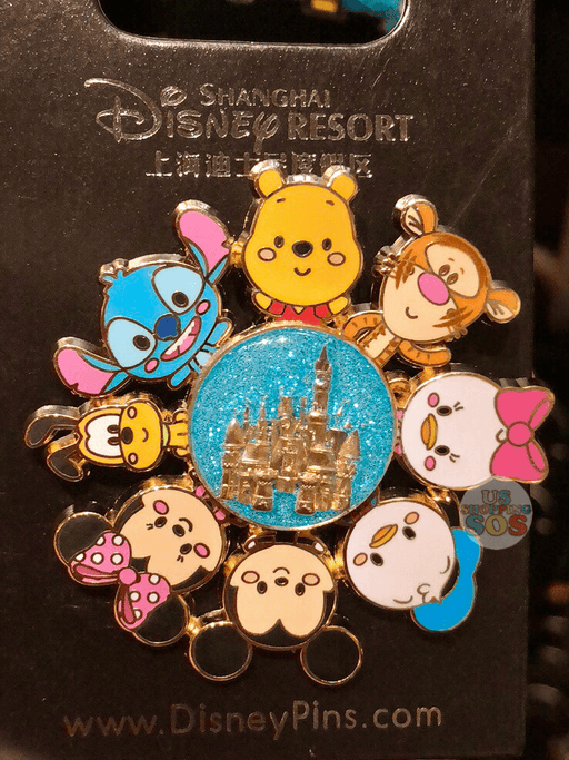 SHDL - Mickey & Friends Around the Castle Pin by JMaruyama