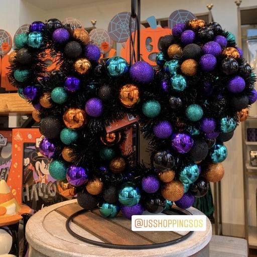 DLR - 🎃 Halloween Time 2020 - Mickey Icon Wreath