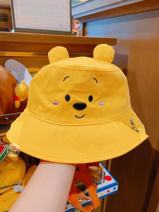 SHDL - Super Cute Winnie the Pooh & Friends Collection - Fishing Hat (For Youth) x Winnie the Pooh Smile