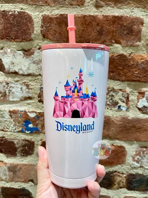 DLR - Starbucks Disneyland Castle Stainless Steel Cold Cup (2021)
