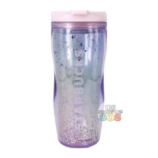 Starbucks China - Valentine 2020 - Love & Peace Star Sequin Ombré Tumbler (355ml)