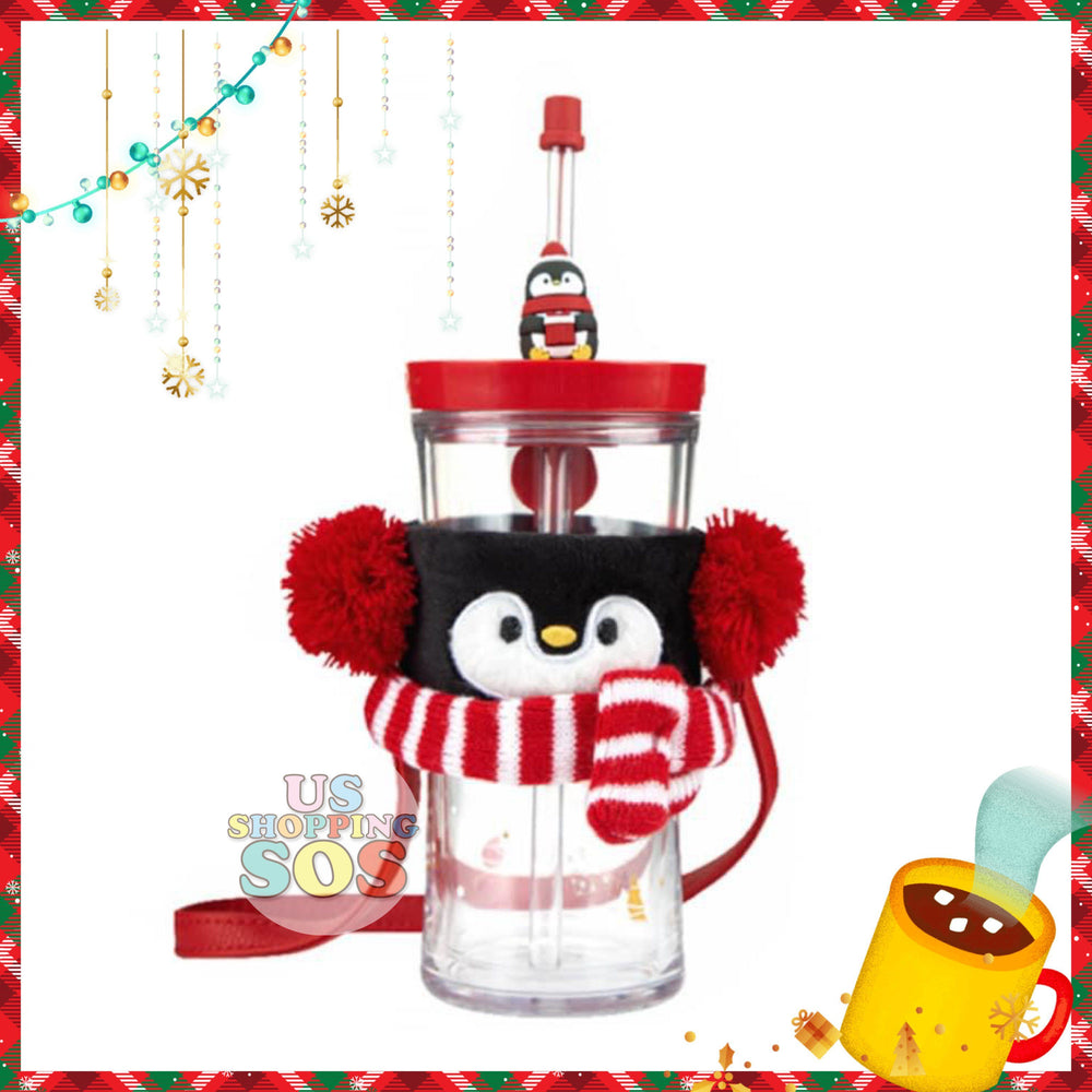 Starbucks China - Christmas Time 2020 (Store 1st Series) - Contigo Penguin Double Wall Sipper 500ml