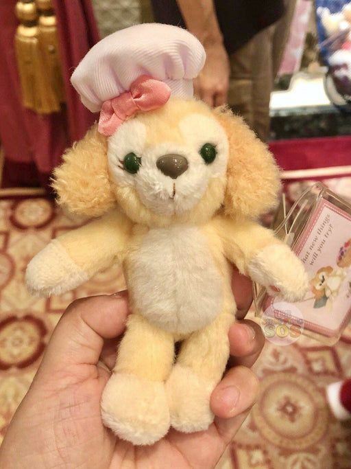 HKDL - Duffy's New Friend - Cookie Standing Plush Keychain
