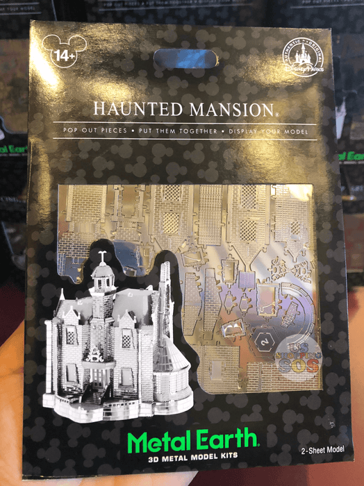 DLR - Metal Earth 3D Model Kit - Haunted Mansion