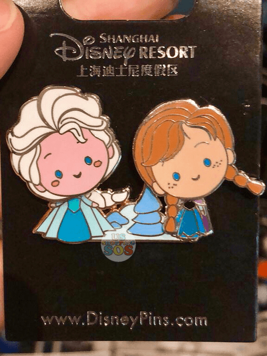 SHDL - Elsa & Anna in Ice Pin by JMaruyama