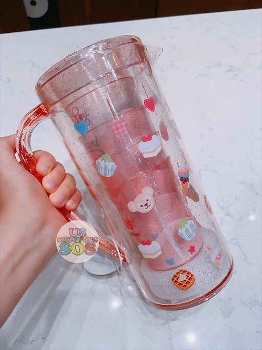 "SHDL - ""Sweet Duffy Afternoon Tea Collection"" - Set of 5 Plastic Pitcher and Cups x Duffy & Friends"