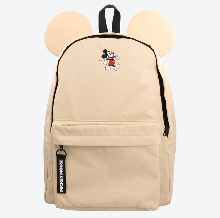 TDR - Mickey Mouse Ear Backpack (Beige Color)