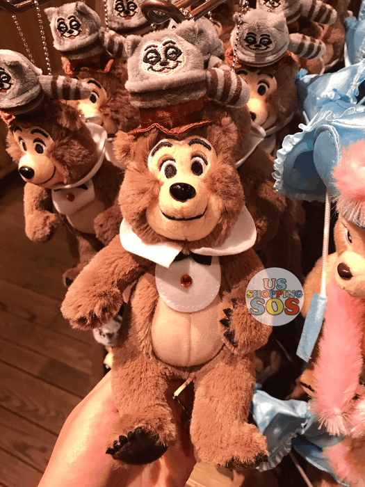 TDR - Country Bear Jamboree Plush Keychain - Henry
