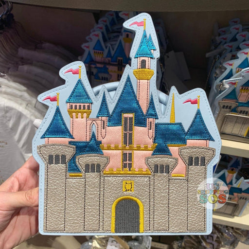 DLR - The Happiest Place on Earth - Danielle Nicole Sleeping Beauty Castle Crossbody Bag