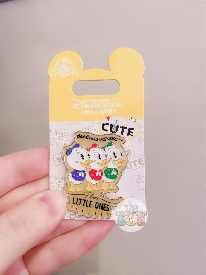 SHDL - Super Cute Mickey & Friends Collection - Pin x Huey, Dewey, and Louie's