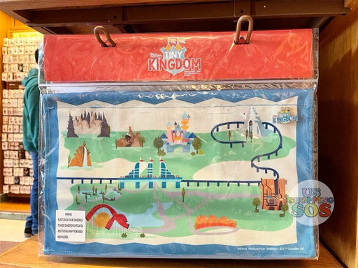 DLR - Disney Tiny Kingdom Disneyland Park Display Map (2nd Edition Series 1)