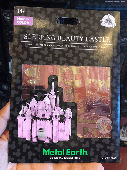 DLR - Metal Earth 3D Model Kit - Sleeping Beauty Castle